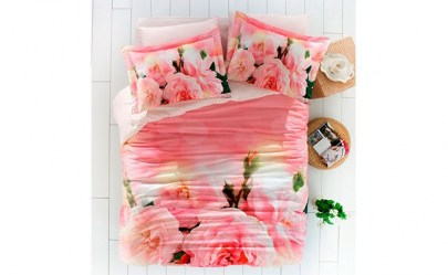 Rose Pink 3D Szatén Ágynemű Garnitúra 82517ceea0